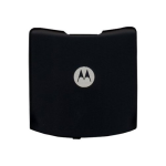 OEM Motorola V3RE Razr Standard Battery Door - Black