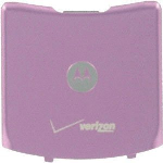 OEM Motorola RAZR V3RE Standard Battery Door - Pink