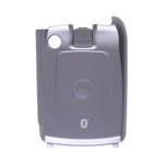 OEM Motorola V710 Standard Battery Door - Silver