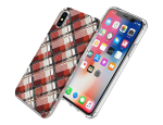 Incipio Technologies Vera Bradley FlexFrame Case for Apple iPhone X (Grid)