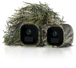 Arlo Go by NETGEAR Skins Camouflage/Ghillie Arlo Go Compatible (Set of 2)