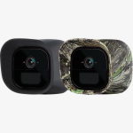 Arlo Go Skins for Arlo Go Mobile HD Security Camera - Black and Camouflage (2 Pack)