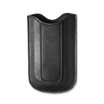Reiko - Vertical Pouch For VP01 Blackberry 8110 - Black