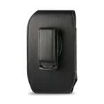 Reiko - Vertical Pouch for Blackberry 8830 - Black