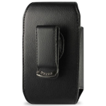Reiko - Vertical Pouch for HTC HD2 T8585 PLUS - Black
