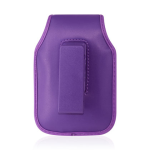Reiko - Vertical Pouch for Blackberry 8330 - Purple