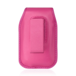 Reiko - Vertical Pouch for LG LX260 Rumor - Hot Pink