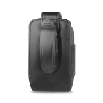 Reiko - Vertical Pouch for Blackberry Curve 8330 - Black