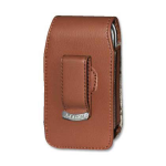 Reiko - Vertical Pouch for LG LX260 BROWN - Brown DOuble E