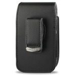 Reiko - Vertical Pouch for Blackberry 8330 - Black