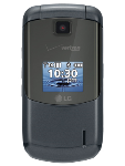LG Accolade VX5600 Replica Dummy Phone / Toy Phone (Dark Gray) (Bulk Packaging)