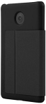 INCIPIO Plexfolio Case with Leather Front Cover for Verizon Ellipsis 8 - Black