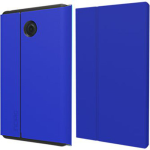 Incipio Faraday Folio Case with Magnetic Fold Over Closure for Verizon Ellipsis 8 (Dark Blue)