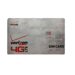 Verizon 4G LTE Sim Card Works with Most Verizon 4G Cell Phones