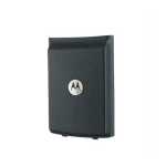 OEM Motorola W385 Standard Battery Door - Gray
