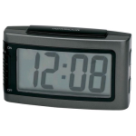 Impecca Battery Alarm Clock with Snooze (Gray)