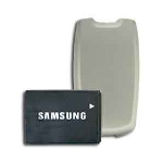 OEM Samsung U540 Extended Battery & Silver Door