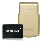 OEM Samsung U740 Extended Battery & Gold Door