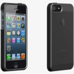 Verizon High Gloss Silicone Case for iPhone 5/5S/SE - Black