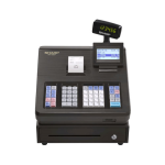 Sharp XEA207 Menu Based Control System Cash Register - Black