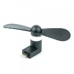 Xfactor -Apple 8-Pin Lightning | Portable Phone Fan Black