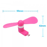 Xfactor -Micro USB | Portable Phone Fan Pink