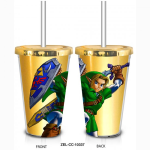 Zelda - Link w/Sword & Shield Travel Mug
