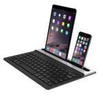 ZAGG Limitless, Full-Size Multi-Device Universal Bluetooth Backlit Keyboard - Black