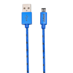 ZipKord Data Cable for Micro USB Devices - Blue