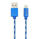 ZipKord Data Cable for Apple Lightning Devices - Blue