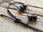 Zip-Budz Sound-Isolating Earphones - Black
