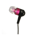 Luxmo Universal Hands-Free 3.5mm Sound-Isolating Earphones (Pink)