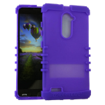 Rocker Series Silicone Case for ZTE Z981-Light Purple