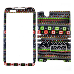 Rocker Series Snap-On Protector Case for ZTE Zmax (Tribal Design)