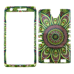 Rocker Series Snap-On Protector Case for ZTE Zmax 2 (Tribal Design)