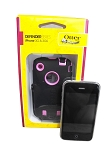 Otterbox Defender Series Case for iPhone 3G/3GS - Black/Pink