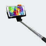 iPlanet Bluetooth Selfie Stick for Android and Apple iOS - Black