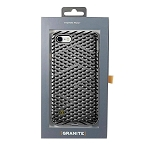 Granite Kaiser Case for iPhone 8, iPhone 7 - Silver (Gunmetal Cage Pattern)