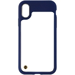 Granite Mono Case for Apple iPhone X/Xs - Blue/Clear