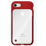 Milk and Honey Mono Case for Apple iPhone SE2/8/7 - Red/Clear