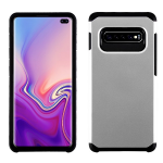 ASMYNA Silver/Black Astronoot Protector Cover  for Galaxy S10 plus
