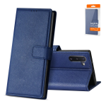 Reiko SAMSUNG GALAXY NOTE 10 3-In-1 Wallet Case In BLUE