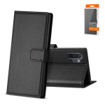 Reiko SAMSUNG GALAXY NOTE 10 PLUS 3-In-1 Wallet Case In BLACK