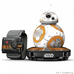 Sphero Universal Star Wars App-Enabled Droid with Force Band Watch - BB-8