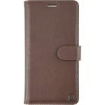 Uunique 2-in-1 Detachable Leather Wallet Folio Case for iPhone XR - Brown/Tan