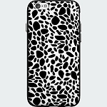 Milk & Honey Pebble Spots Case for Apple iPhone 6/6s - Black and White