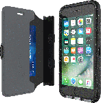 Tech21 Evo Active Edition Wallet Case for iPhone SE2/8/7/6/6s - Smokey/Black