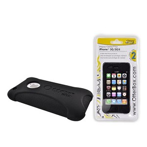 New Otter Impact Skin Black Case for iPhone 3G 3GS