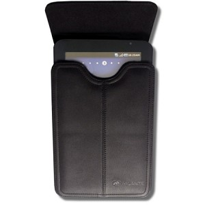 Milante Monza Black Leather Horizontal Pouch for Samsung Galaxy Tab