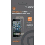 Ventev Toughglass Screen Protector for iPhone 6/6S/7/8/SE2 - Clear with Silver Frame